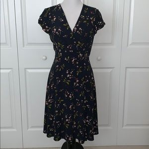 Ann Taylor fit and flair dress